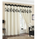 Rivage Luxury Lined Eyelet Curtains