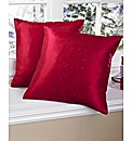 Sparkle Embroidered Cushions