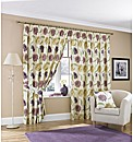 Briar Rose Lined Pencil Pleat Curtains