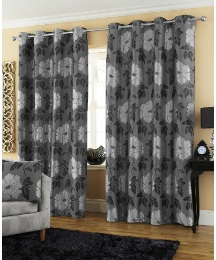 Marseilles Jacquard Eyelet Curtains