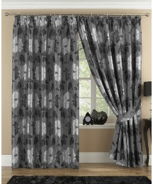 Marseilles Jacquard Pencil Pleat Curtain