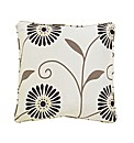 Floral Burst Filled Cushion