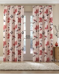 Elizabeth Faux Silk Curtains