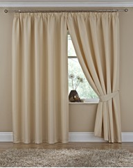 Duchess Lined Pencil Pleat Curtains