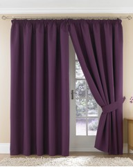 Emperor Thermal Pencil Pleat Curtains