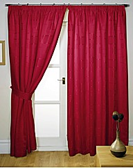McKenzie Jacquard Pencil Pleat Curtains