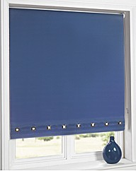Square Eyelet Roller Large Blind