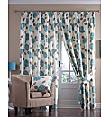 Ava Panama Lined Pencil Pleat Curtains