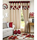Darcy Lined Eyelet Curtains