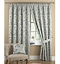 Harriet Lined Pencil Pleat Curtains