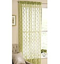 Circles knitted Voile Panel