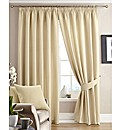 Alice Waffle Pencil Pleat Curtains