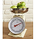 Retro Kitchen Scales Cream