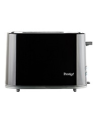 Prestige 2 Slice Eco Toaster Black