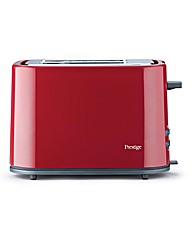 Prestige 2 Slice Eco Toaster Red