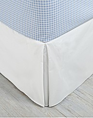 Box Pleat Easy Fit Bed Valance