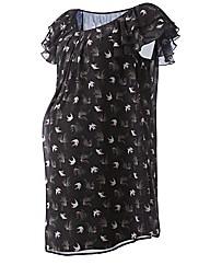 Maternity Frill Sleeve Tunic