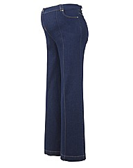 Maternity Pixie Wide Leg Maternity Jeans