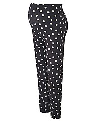 Maternity Daisy Print Leggings