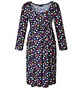Maternity Printed Jersey Dress