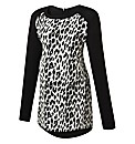 Maternity Zebra Print Top