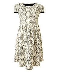 Maternity Textured Dress