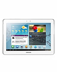 Samsung 10.1in Galaxy Tab 2 Wi-Fi -White