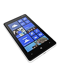 Vodafone Nokia Lumia 520 Mobile - White