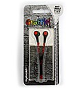 Zip Headphones - Black / Red