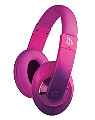 Ombre Over Ear Headphones - Purple