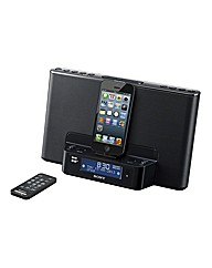 Sony DAB Clock/Radio/iPod Dock