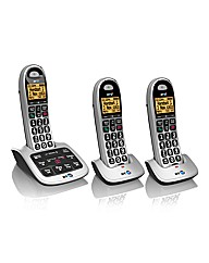 BT Triple Phone with Answer Machine