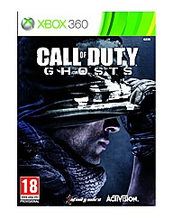 Call of Duty: Ghosts Xbox 360 Game