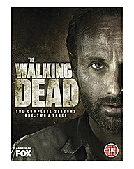 Walking Dead Series 1-3 DVD