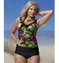 Pour Moi Tahiti Tankini And Short Set