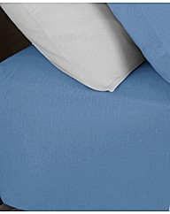 Supersoft Plain Dyed Fitted Sheet