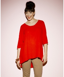 High Low Hem Blouse