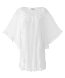 Lauren's Collection Pleated Tunic