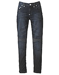Voi Slim Leg Jeans with Stitch Detail