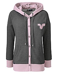 Voi Button Through Hoodie