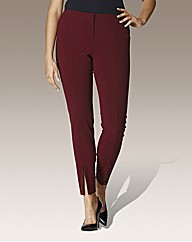 Split Zip Hem Trousers