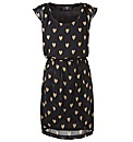 AX Paris Heart Print Cross Over Dress
