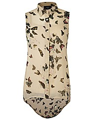AX Paris Butterfly Print Blouse