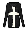 AX Paris Slouch Cross Front Jumper