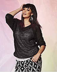 Sequin Slouch Jumper