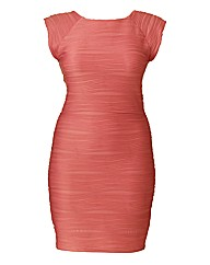 AX Paris Textured Body Con Dress