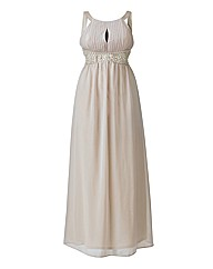 AX Paris Embellished Key Hole Maxi Dress