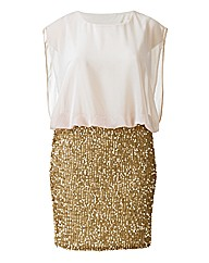 AX Paris Sequin Skirt Dress