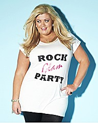 Gemma Collins Sequin Glam T Shirt