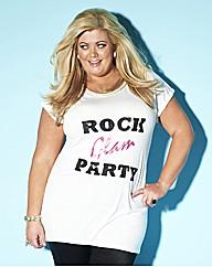 Gemma Collins Sequin Glam T Shirt